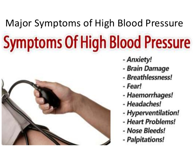 High Blood Pressure Definition
