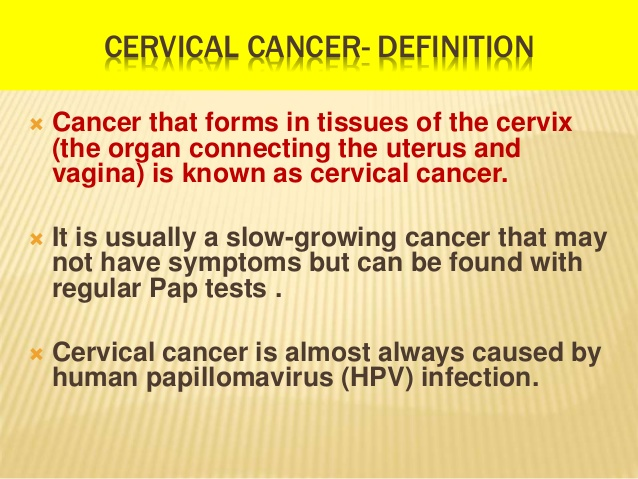 Cervical Cancer Definition